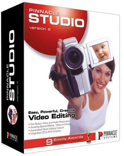 Pinnacle Studio 9 Upgrade from Previous Version