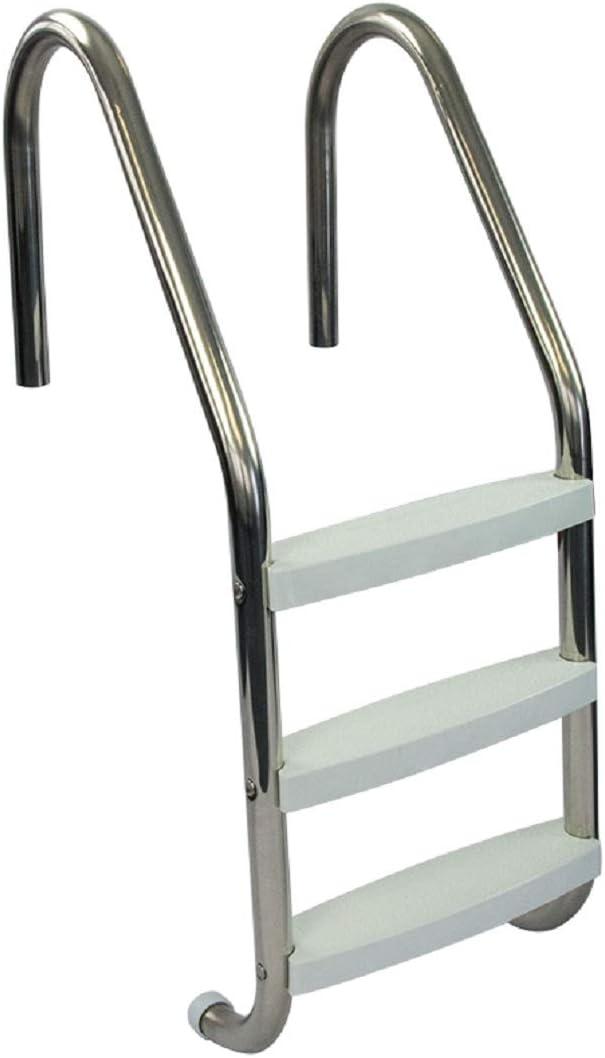 Aqua Select Three Tread Stainless Steel Pool Ladder - Amazon's Choice