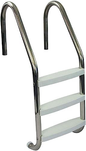 Aqua-Select-Three-Tread-Stainless-Steel-Pool-Ladder