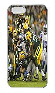 NFL Packers Dedign Tough Hard Iphone 5S Case - Iphone 5S Cover - Retail Packing for Iphone 5S - Embrace