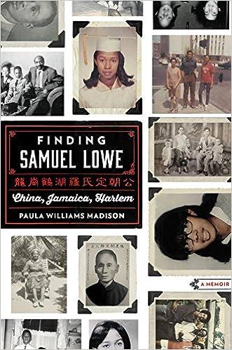 China Jamaica Harlem Finding Samuel Lowe