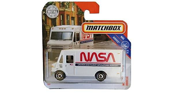 Matchbox NASA Mission Support Vehicle Mbx Service 18-20: Amazon.es: Juguetes y juegos