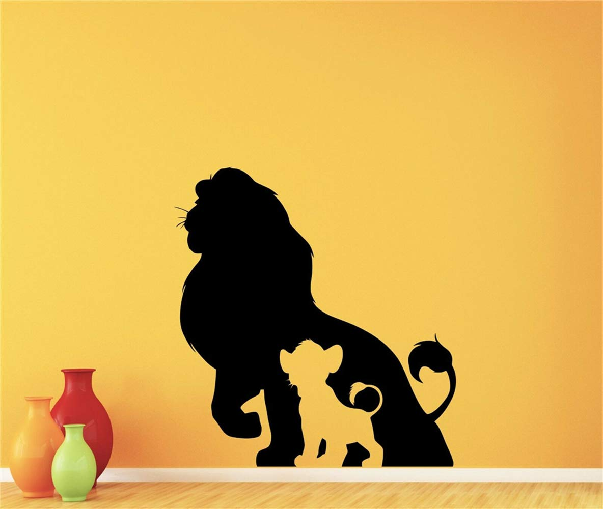 pegatina de pared Lion King Decal Lion King Tatuajes de pared ...