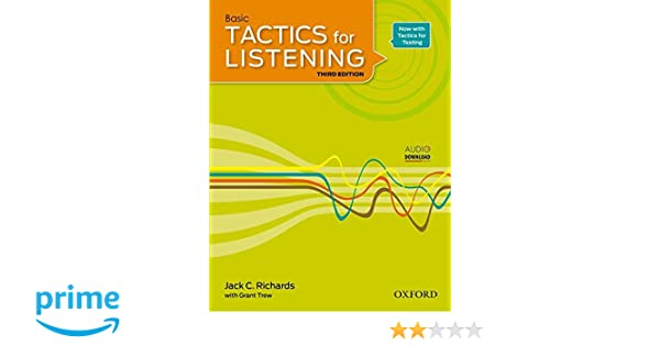 Basic Tactics For Listening Third Edition Pdf