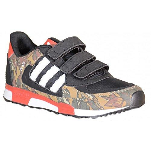 Adidas - Adidas ZX 850 CF K Zapatillos Deportivos Negro Cuero M19743 - Negro, 29