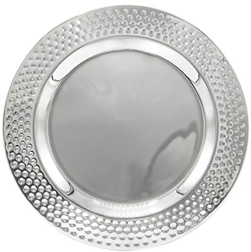 "Classy 12"" Charger Plate For Formal Dinners 