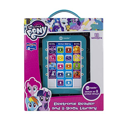Hasbro - My Little Pony Me Reader Electronic Reader and 8 Sound Book Library - PI Kids