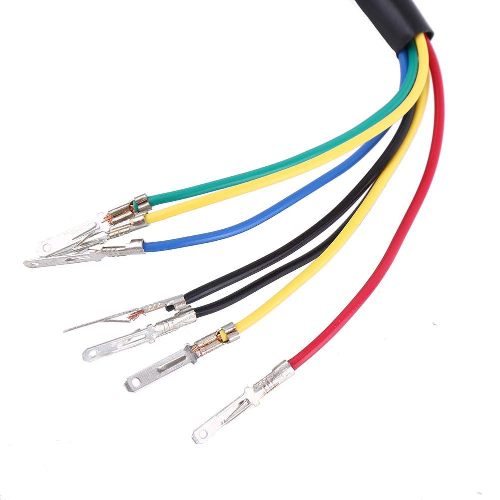 contachilometri digitale LED in acciaio inox con retroilluminazione luce segnale calibro manometro K//MH nero Contachilometri