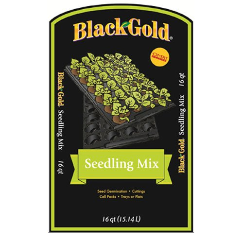 Seeding Soil (Black Gold 1311002 16-Quart Seedling Mix)
