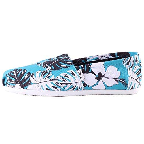 Toms Classic Womens Shoes Blue Blue ps0XCL