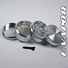"Sharpstone 2.2"" 4 Piece Magnetic Top Grinder - Silver with Bag! by Sharpstone"