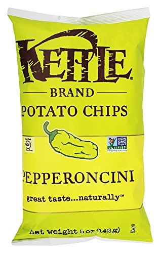 Kettle Foods Chip Pepperoncini, 5 oz