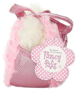 Aurora World Fancy Pals Plush Pink Pet Carrier 3