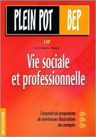 Livres gratuits Vie sociale et professionnelle : CAP, BEP pdf