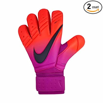 Nike Premier Sgt Total Crimson Hyper Grape Obsidian Goalkeeper Gloves - 11 6289e80fbb86