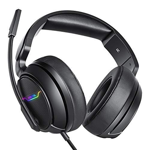 XIBERIA Xbox one Headset, PS4 Headset, Gaming Headphones, 3.5mm Surround Stereo...