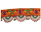 Varni Creation Diwali Decoration-Traditional Toran For Door - 37' Inch Length