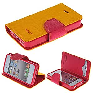"""iPhone 6 Case with 4.7""""**Ezydigital Carryberry Premium PU Leather Wallet Case with Card Slots, Cash Compartmentfor iPhone 6"""