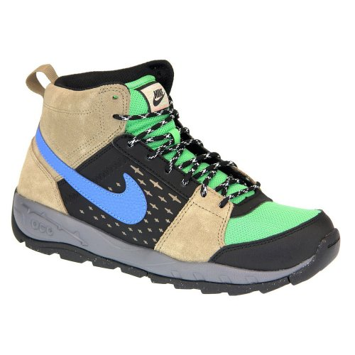 Nike ALDER MID (GS) Chaussures Sneakers Mode Junior Enfant Marron Vert NIKE