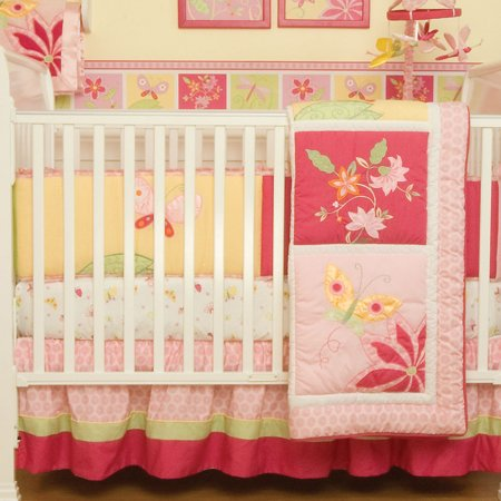 Tiger Lily Nursery Fitted Crib - Tiger Nursery Lily