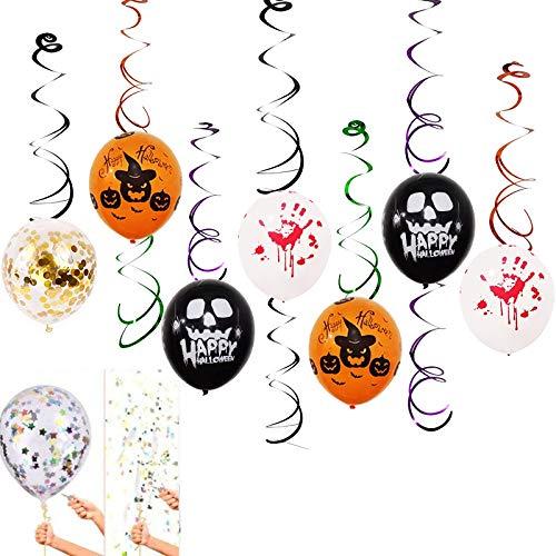 Ballons & Accessories - Pvc Spiral Charm Halloween Balloons Combination Festival Celebration Party 10d - Ballons Balloons -