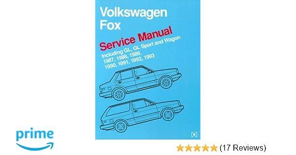 volkswagen fox service manual 1987 1993 bentley publishers rh amazon com VW Beetle Looks Like Bentley VW Phaeton Bentley