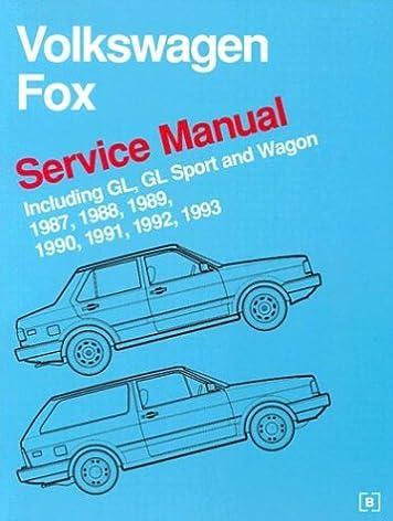 volkswagen fox service manual 1987 1993 bentley publishers rh amazon com Bentley VW Bug Bentley VW Repair Manual