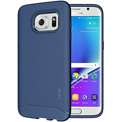 Galaxy S7 Edge Case - TUDIA Full-Matte ARCH TPU Bumper Protective Case for Samsung Galaxy S7 Edge (Blue) Sales