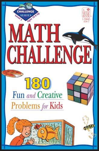 Download Math Challenge: 190 Fun & Creative Problems for Kids, Level 2 (Ages 10 & Up) pdf epub