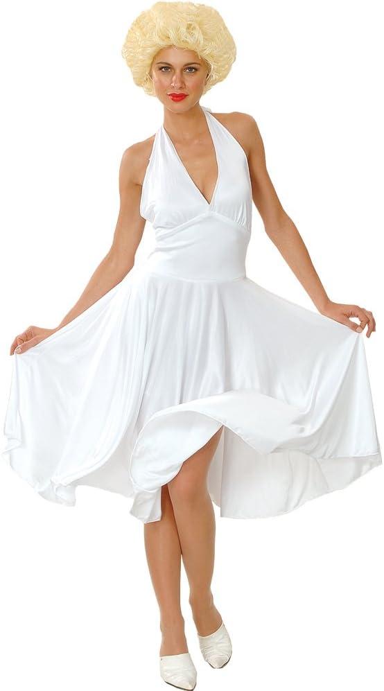 Marilyn Munro Hollywood Star Fancy Dress Costume Small (disfraz)