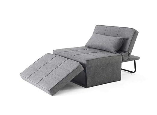 HAOGUO Sofá, Minimalista Moderna Plegable sofá Cama Doble ...