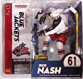McFarlane Toys NHL Sports Picks Series 10 Action Figure Rick Nash (Columbus Blue Jackets) White Jersey by McFarlane Toys