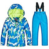 LyhomeO Children's ski Suit Snowsuit Winter Ski Jacket and Pants Set