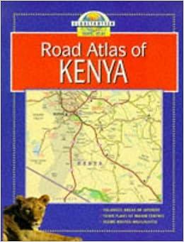 Book Kenya (Globetrotter Travel Atlas)