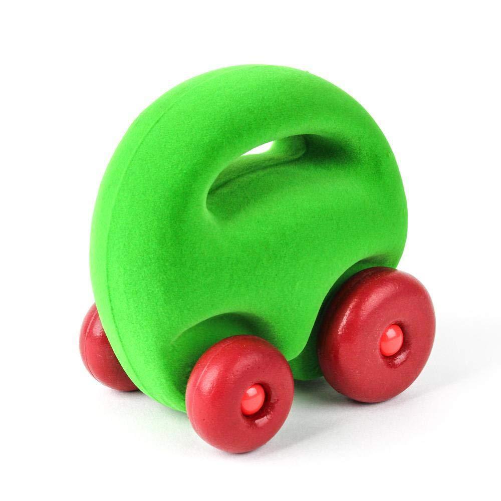 2 Pack Rubbabu Mascot Car Grab Em Red and Green Car