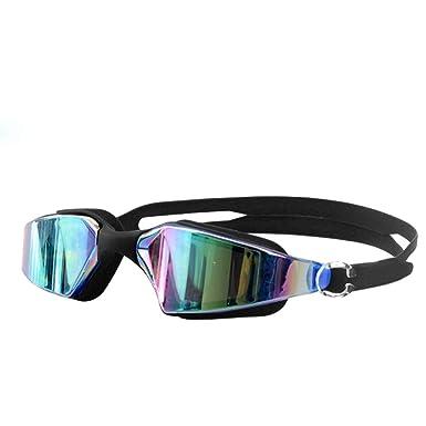 437aa90c6c2 WooCo Non-Fogging Anti UV Swimming Swim Glasses Sale Siamese Silicone HD  Goggles Adjustable Eye Protect Adult(Black
