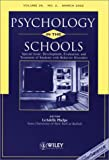Development, Evaluation, and Treatment of Students with Behavior Disorders: Psychology in the School