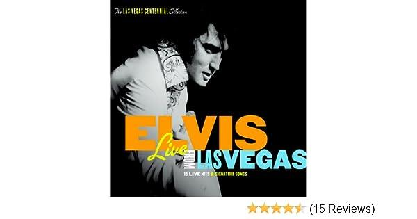 elvis presley live from las vegas amazon com music