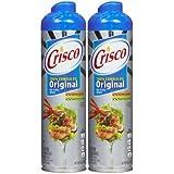 Crisco 100% Canola Oil Original No Stick Spray, 6 oz, 2 pk by Crisco