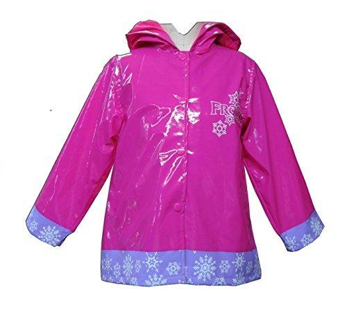 Disney Frozen Girls Rain Coat - Toddler (3T.) Pink
