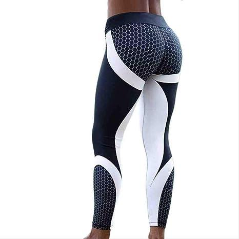 UK Women Yoga Pants Fitness Leggings Running Gym Exercise Sports Floral Trousers
