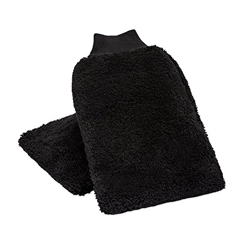 "Buff Detail Automotive Microfiber Wash Mitt 7"" by 10""