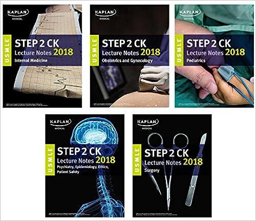 USMLE Step 2 CK Lecture Notes 2018: 5-Book Set (USMLE Prep