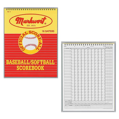 markwort-baseball-softball-scorebook-26-games