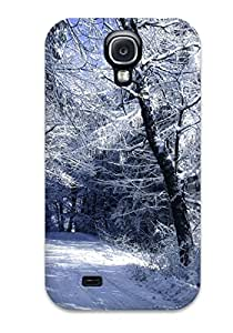 New Arrival Case Specially Design For Galaxy S4 (winter Forest)