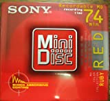 SONY MDW80ER Recordable MiniDisc MD 80-Minute (Single Pack)