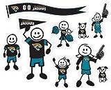 Siskiyou NFL Jacksonville Jaguars Large Family Decal Set