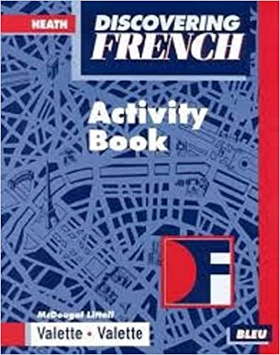 Amazon discovering french bleu activity book mcdougal littell discovering french bleu activity book mcdougal littell discovering french nouveau workbook edition fandeluxe Gallery