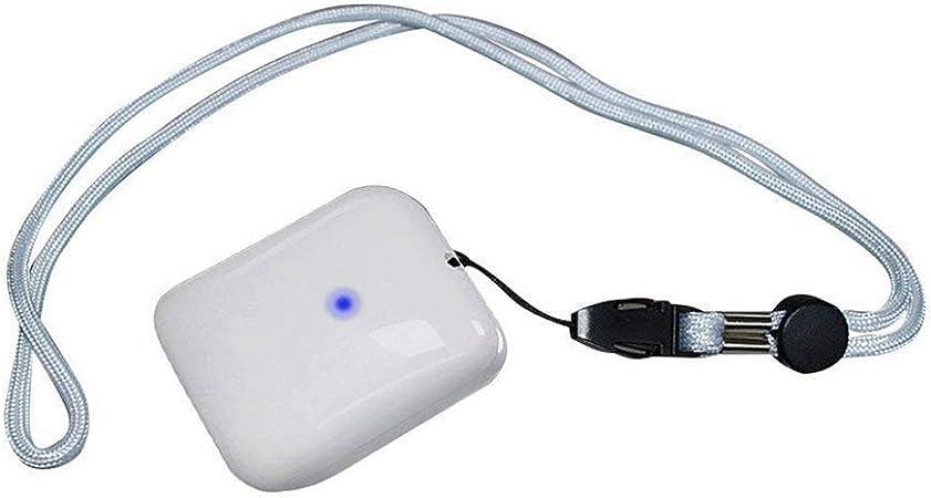 FXQIN Purificador de Aire Personalizable, Filtro de Aire ionizador portátil, USB Recargable/Eliminar el Humo/Olor a Polvo/Ruido bajo, Apto para Adultos, niños, Blanco: Amazon.es: Hogar