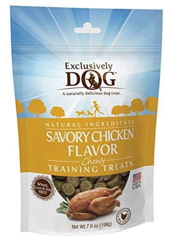 Exclusively Dog Savory Chicken Flavor Chewy Training Treats - Exclusively Pet Cheese